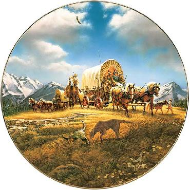Terry Redlin O Beautiful for Spacious Skies Collector Plate