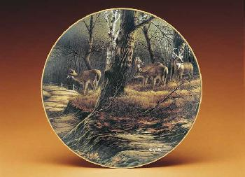 Terry Redlin Leaving the Sanctuary Collector Plate