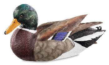 Sam Nottleman Mallard Duck Quarter Lifesize Decoy Sculpture