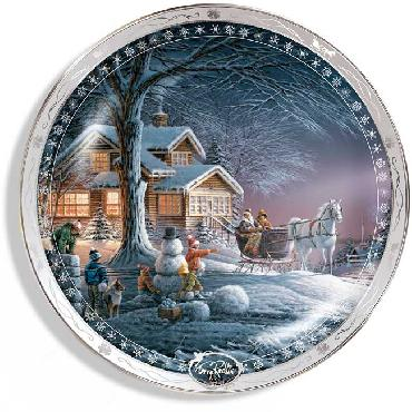 Terry Redlin Winter Wonderland Collector Plate