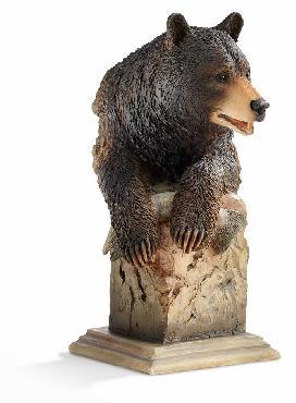 Joe Slockbower Handful   -   Black Bear Sculpture