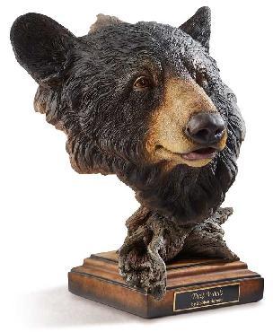 Stephen Herrero Deep Woods   -   Black Bear Sculpture