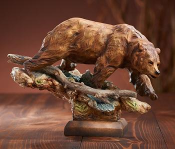 Danny Edwards Taking The Lead  -  Bear Sculpture