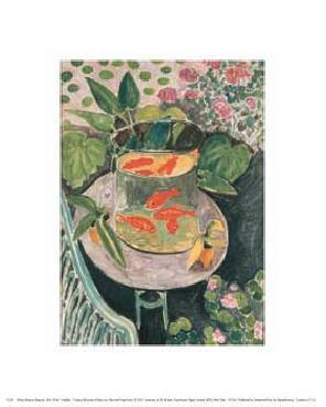 Henri Matisse Goldfish 1912