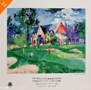 LeRoy Neiman 79th Winged Foot Open Edition on Paper - Last Ones!