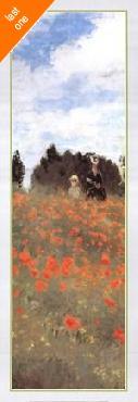 Claude Monet Fields of Poppies NO LONGER IN PRINT - LAST ONE!!