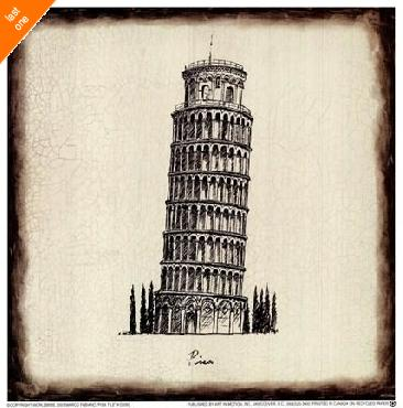 Marco Fabiano Pisa Tile   LAST ONES IN INVENTORY!!