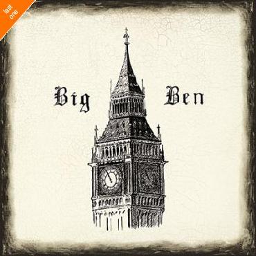 Marco Fabiano Big Ben Tile   LAST ONES IN INVENTORY!!
