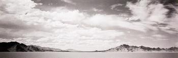Peter Vincent The Bonneville Salt Flats Signed Open Edition on Paper