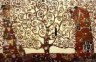 Gustav Klimt Tree Of Life  -  Stoclet Frieze