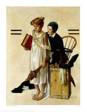 Norman Rockwell Spirit Of Education Giclee