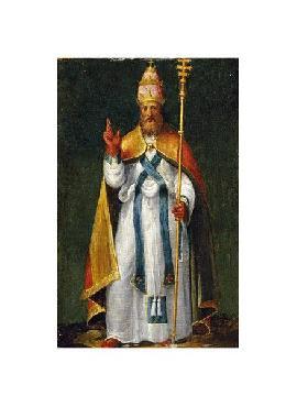 Bernardino Campi Saint Leo The Great Giclee