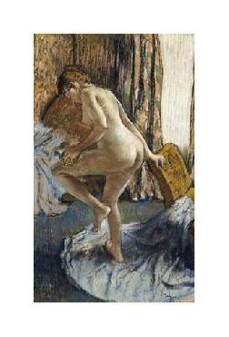 Edgar Degas After The Bath Giclee