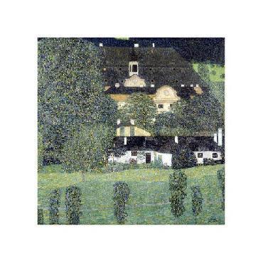 Gustav Klimt Schloss Kammer Am Attersee II Giclee