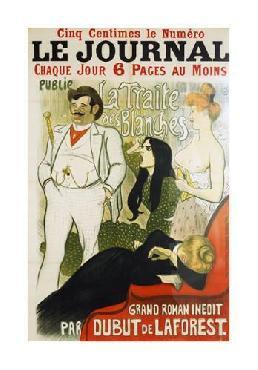 Theophile Alexandre Steinlen Le Journal La Traite Des Blanches Giclee