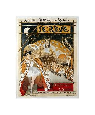Theophile Alexandre Steinlen Le Reve Giclee