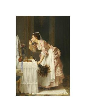 Joseph Caraud The Chamber Maid Giclee