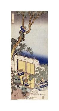 Katsushika Hokusai A Chinese Guard Unlocking The Gate Of A Frontier Barrie Giclee