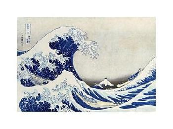 Katsushika Hokusai The Great Wave Of Kanagawa Giclee on Canvas