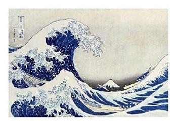 Katsushika Hokusai The Great Wave Of Kanagawa Giclee on Canvas