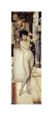 Gustav Klimt Skigge Und Eingelstudie Fur Die Allegorie Der Skulptur Giclee on Canvas