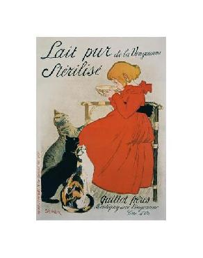 Theophile Alexandre Steinlen Lait Pur Sterilise Giclee