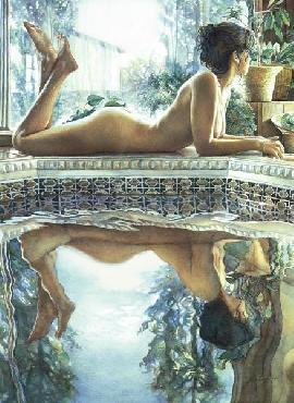 Steve Hanks Reflecting