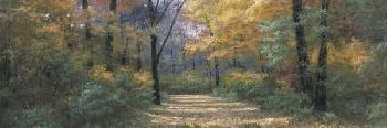 Diane Romanello Autumn Road Panel