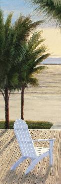 Diane Romanello Palm Beach Retreat Panel I
