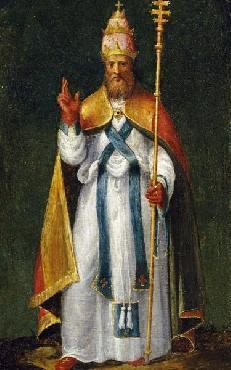 Bernardino Campi Saint Leo The Great
