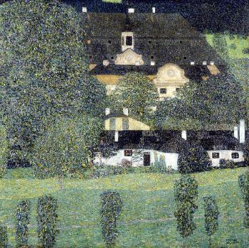 Gustav Klimt Schloss Kammer Am Attersee II