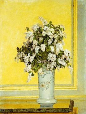 Auguste Hector Cabuzel Floral Still Life