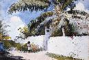 Winslow Homer A Garden In Nassau