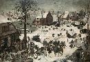 Pieter Bruegel The Elder Census At Bethlehem