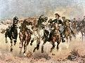 Frederic Remington Dismounted: The 4th Troopers Moving
