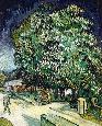 VanGogh Chestnut Trees In Blossom