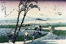 Katsushika Hokusai Ejiri In Suruga Province, 1830