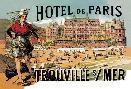 Theophile Alexandre Steinlen Hotel De Paris: Trouville - Sur - Mer, 1885