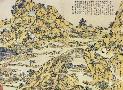 Katsushika Hokusai Landscape With A Hundred Bridges 1832
