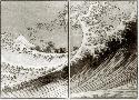 Katsushika Hokusai Mount Fuji Seen Above The Waves