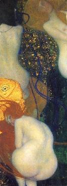 Gustav Klimt Goldfish