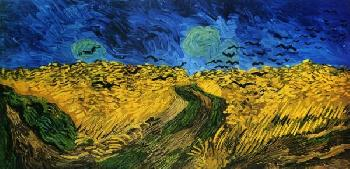 Vincent Van Gogh Crows Over Wheat Field
