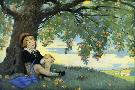 Jessie Willcox Smith Boy Under An Apple Tree