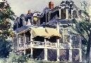 Edward Hopper The Mansard Roof, 1923