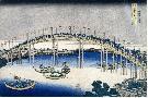 Katsushika Hokusai The Festival Of Lanterns On Temma Bridge,ca. 1827 - 183