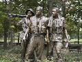 Carol Highsmith Vietnam Memorial Soldiers By Frederick Hart, Washington
