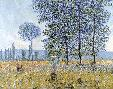 Claude Monet Sunlight Under The Poplars