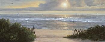 Diane Romanello Summer Moments II Giclee on Canvas