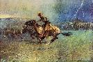 Frederic Remington Stampede
