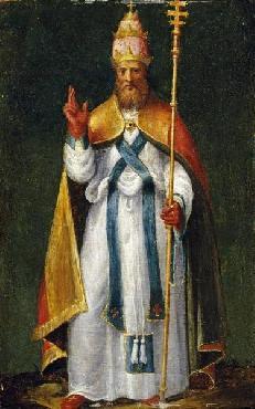 Bernardino Campi Saint Leo The Great Giclee on Canvas